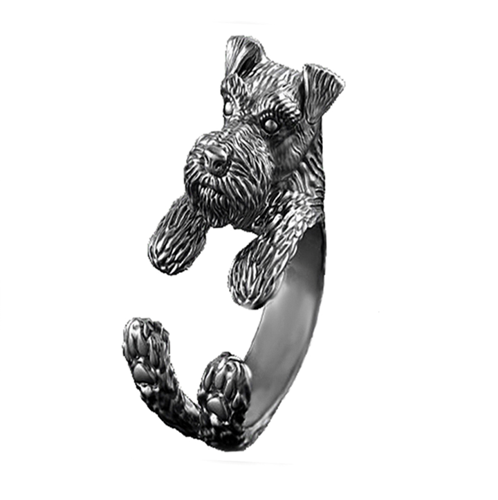 Loyalty Schnauzer Ring