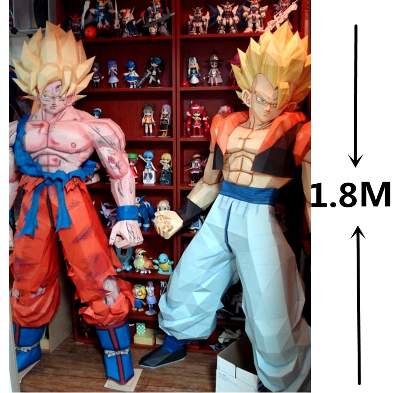 Goku real size puzzle 180 cm/5.9 ft