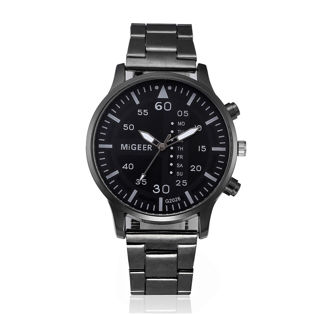 Weekday Stainless Steel Watch