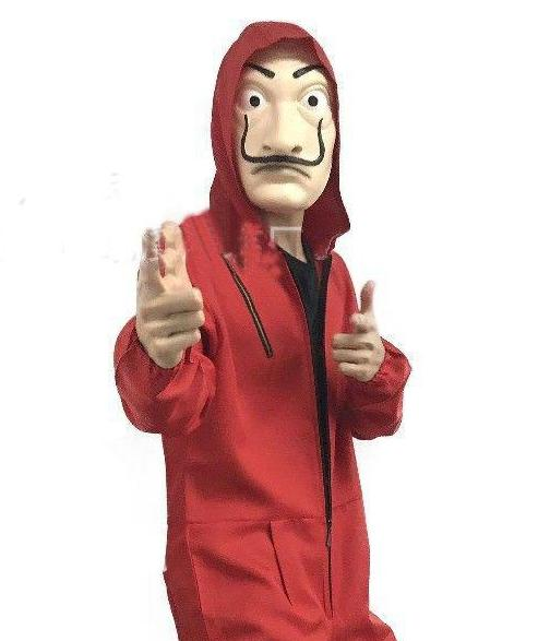 La Casa De Papel Red Costume.