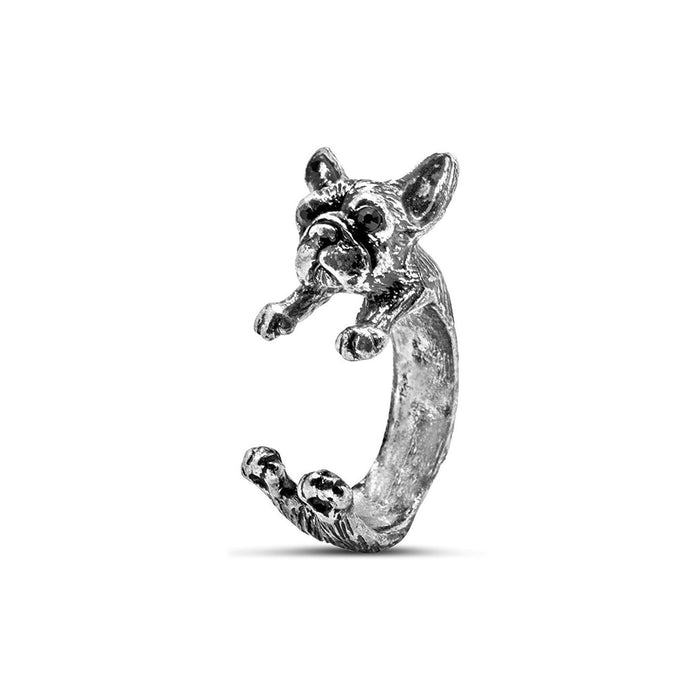 Loyalty French Bulldog Ring
