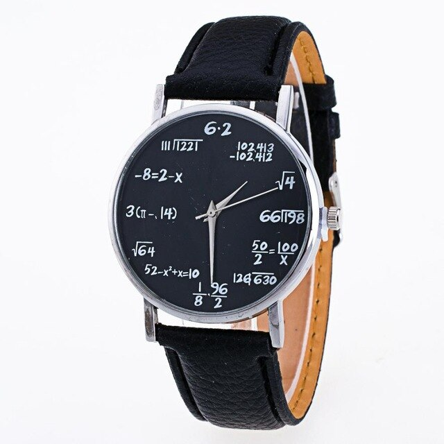 Solve for X Watch (different styles)