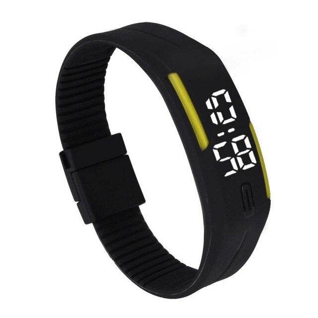Digital Rubber Band Men´s Watch (Different Styles)