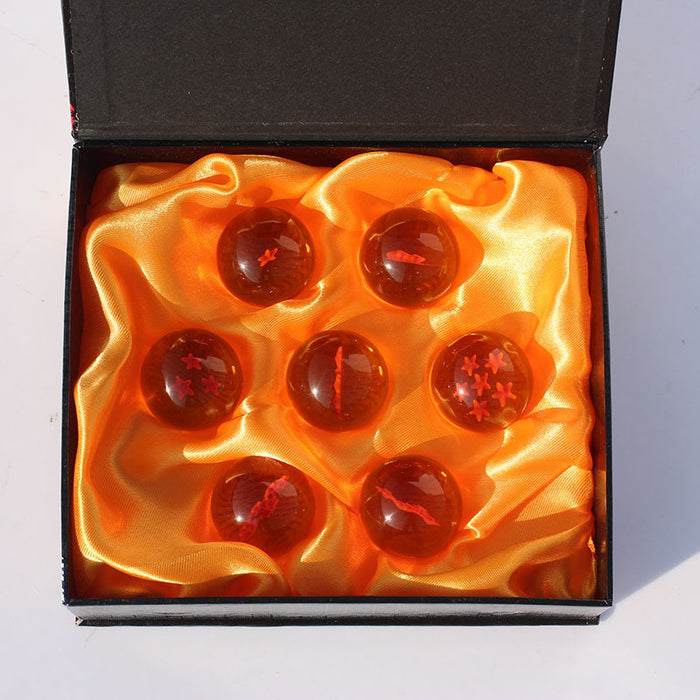 Earth Dragon Balls complete set with sacred pillow