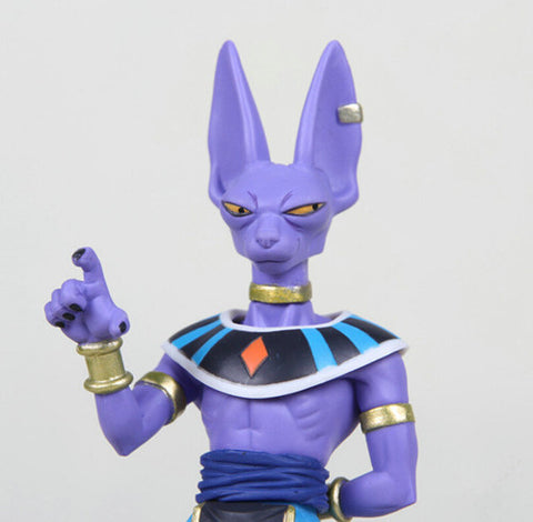 Beerus dragon ball super collection figure