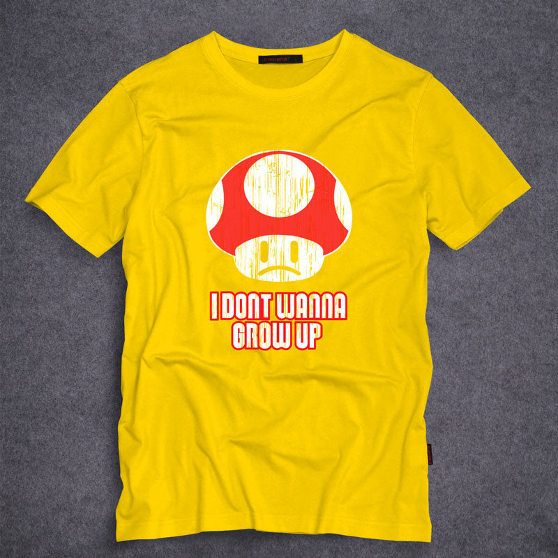 I Dont want to grow up Casual Shirt  (Different colors)