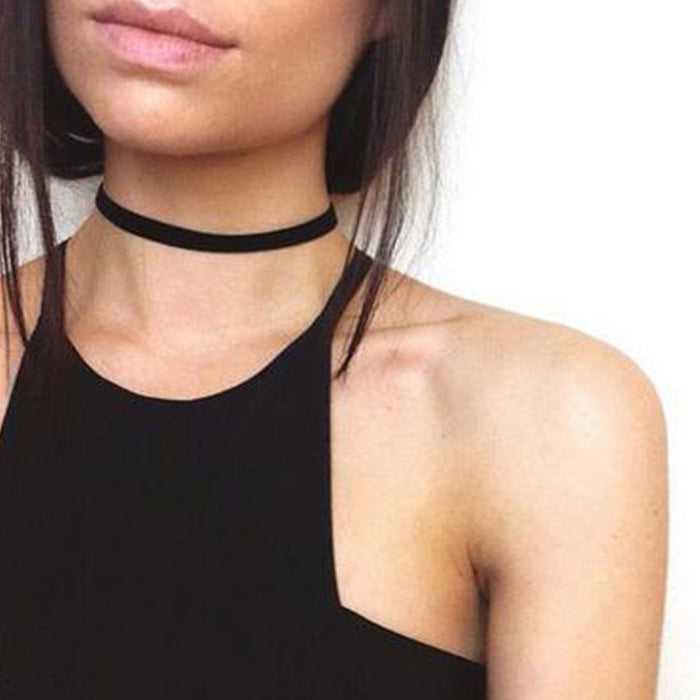 Simple Black Choker (different styles)