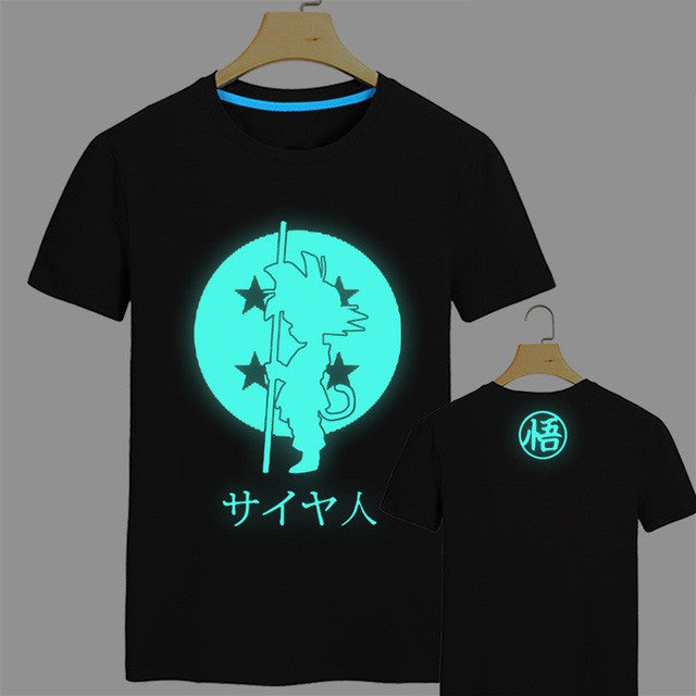 Glow in the Dark Kid Goku T-Shirt