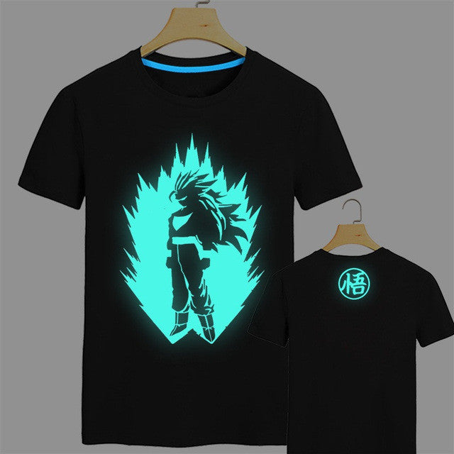 Glow in the Dark Goku Ssj 3 T-Shirt