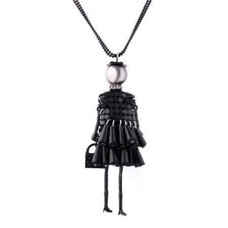Fashion Doll Necklace (different styles)