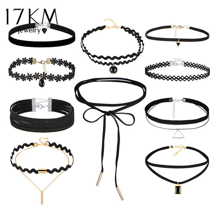 10 Pcs Chokers set