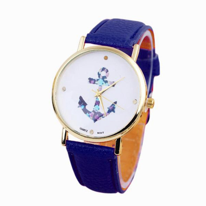 Vintage Anchor Blue Women´s Watch (different styles)