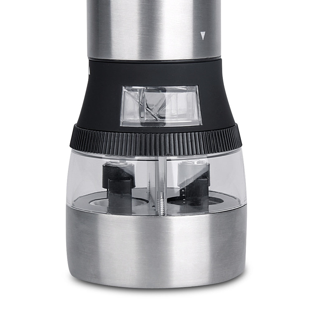 Stainless Steel 2in1 Electric Grinder