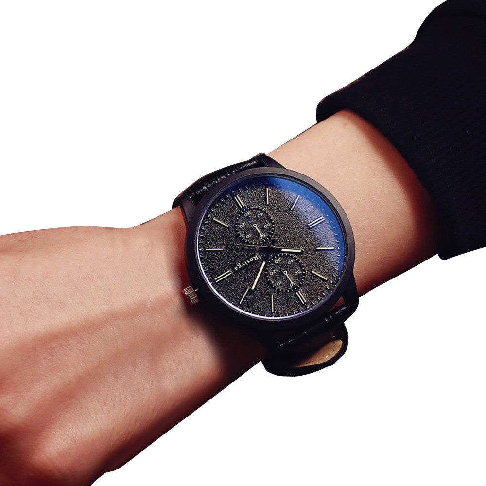Minimalist Black Men´s Watch (different styles)