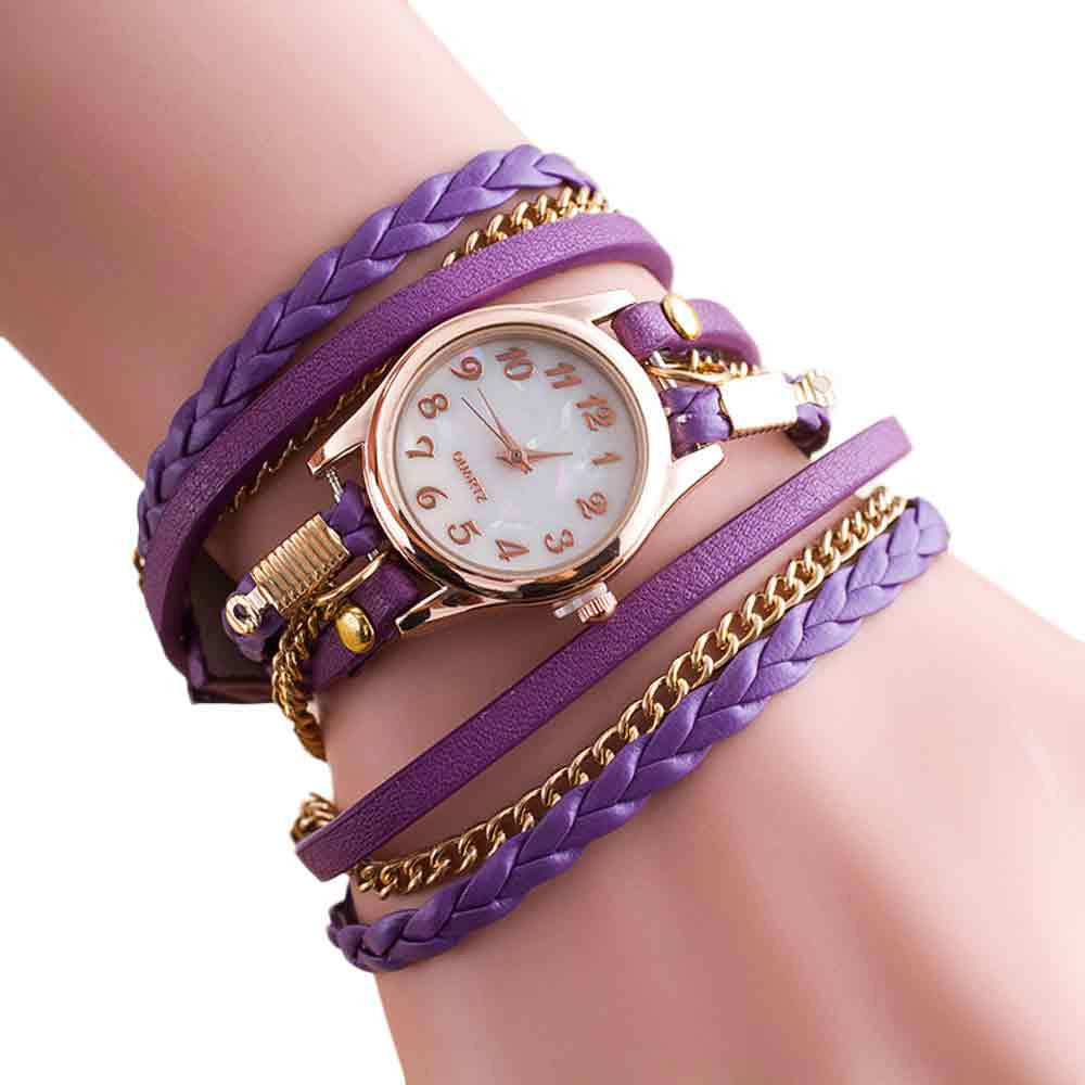 Wrap Around Leather Women´s Watch (different styles)