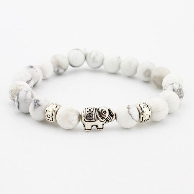 Elephant Stone bracelet (different styles)