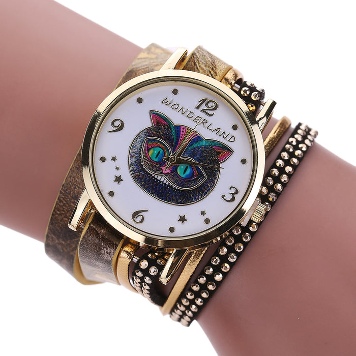 Cheshire Cat Bracelet Women´s Watch (different styles)