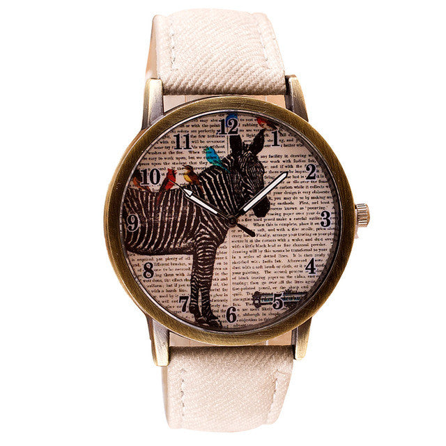 Zebra Vintage Women´s Watch (different styles)