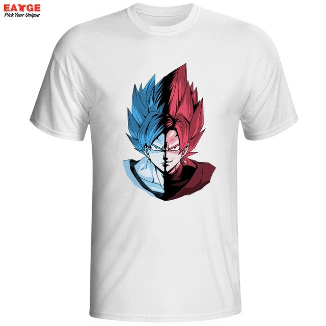 Goku Blue/Rose T-Shirt