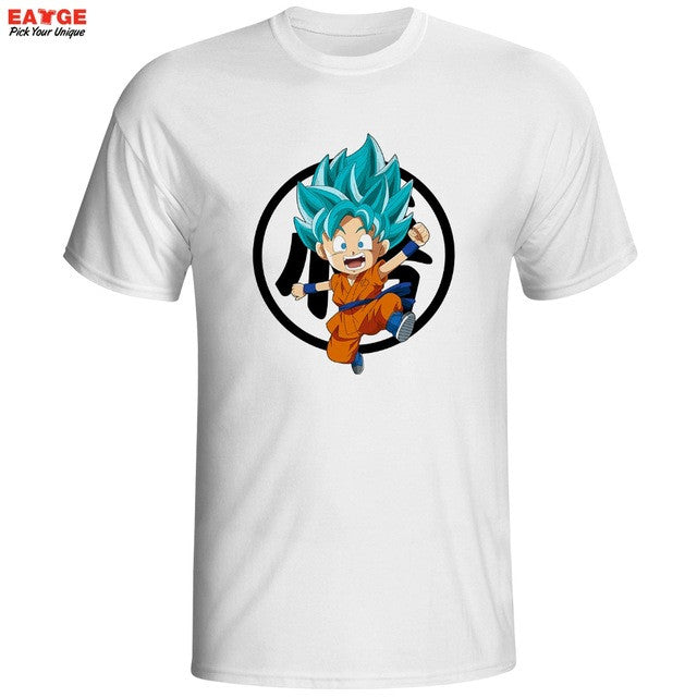 Kid Goku Ssj Blue T-Shirt