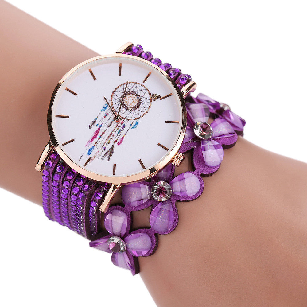 Bracelet Rhinestone Crystal Women´s Watch (different styles)