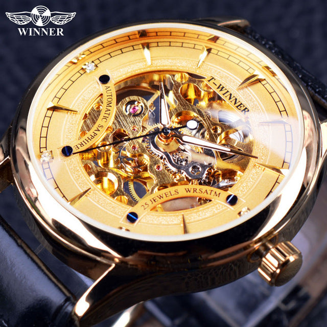 Golden Star Luxury Design Clock