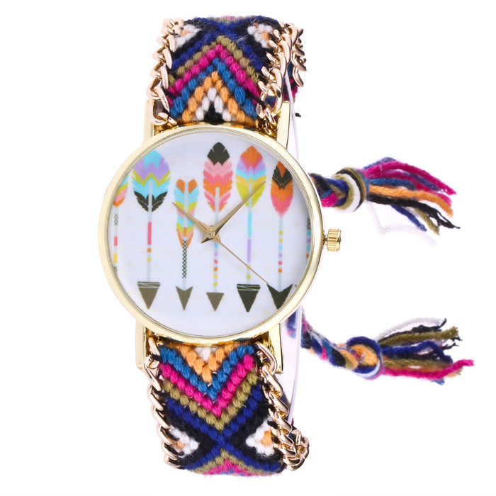 Feather Knitted Rope Women´s Watch (different styles)