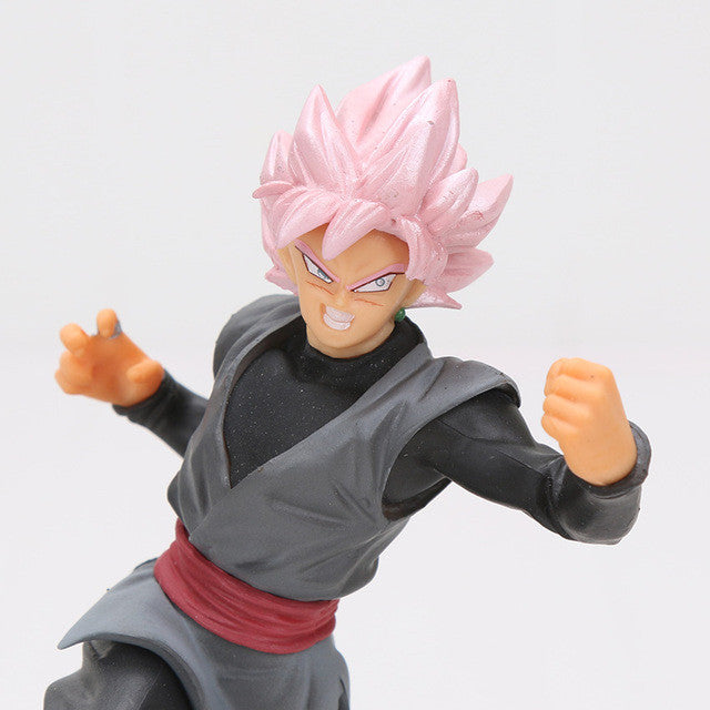 Battle against Zamasu - Goku Black Ssj Rose