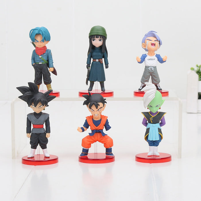 Goku Black Saga 6pcs/set Mini Action Figures