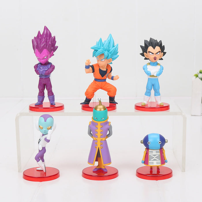 Zeno Sama Filler 6pcs/set Mini Action Figures