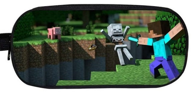 Minecraft Fight PencilCase