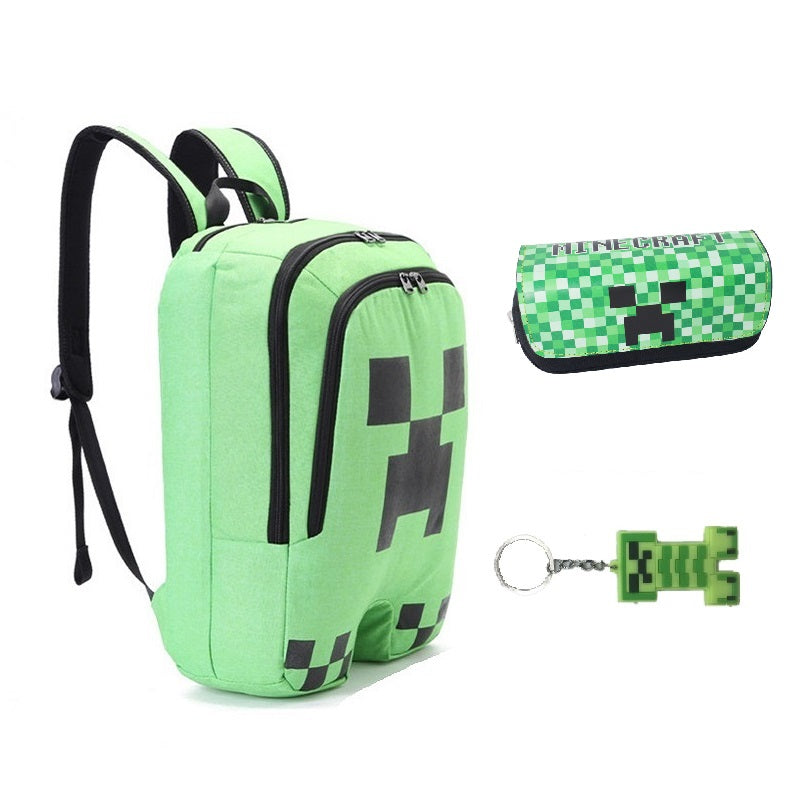 Minecraft Creeper Backpack