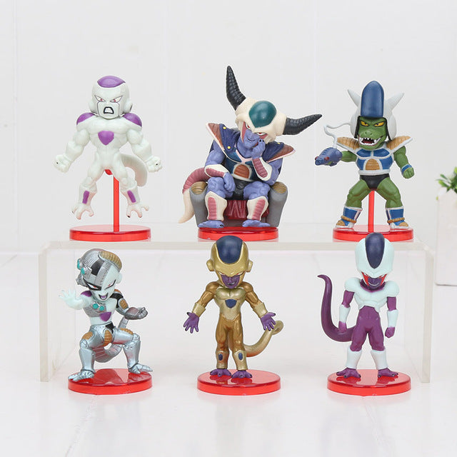 Frieza Saga 6pcs/set Mini Action Figures