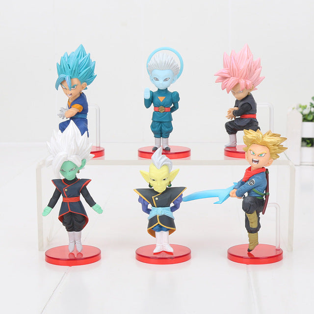 Zamasu Saga 6pcs/set Mini Action Figures
