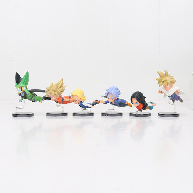 Cell Saga 6pcs/set Mini Action Figures