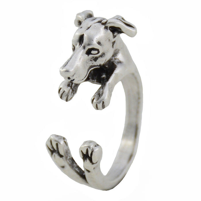 Loyalty Italian Greyhound Ring