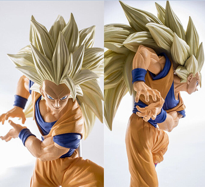 Goku super sayian 3 collection figure