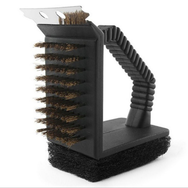 Gold Grill Steel Wire Brush/Scrapper