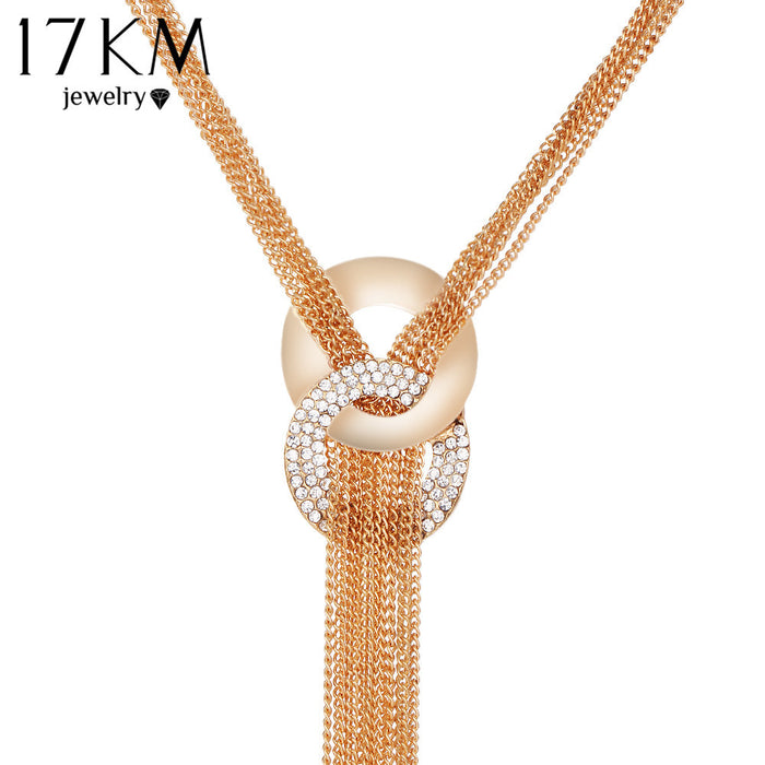 Multilayer Crystal Necklace (different styles)