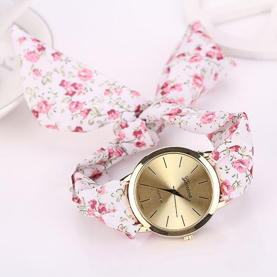 Floral Scarf Watch