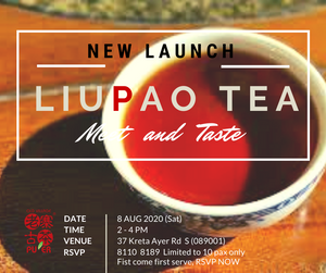 New Product Launch - OVP Goldcoints Resurface Liupao tea