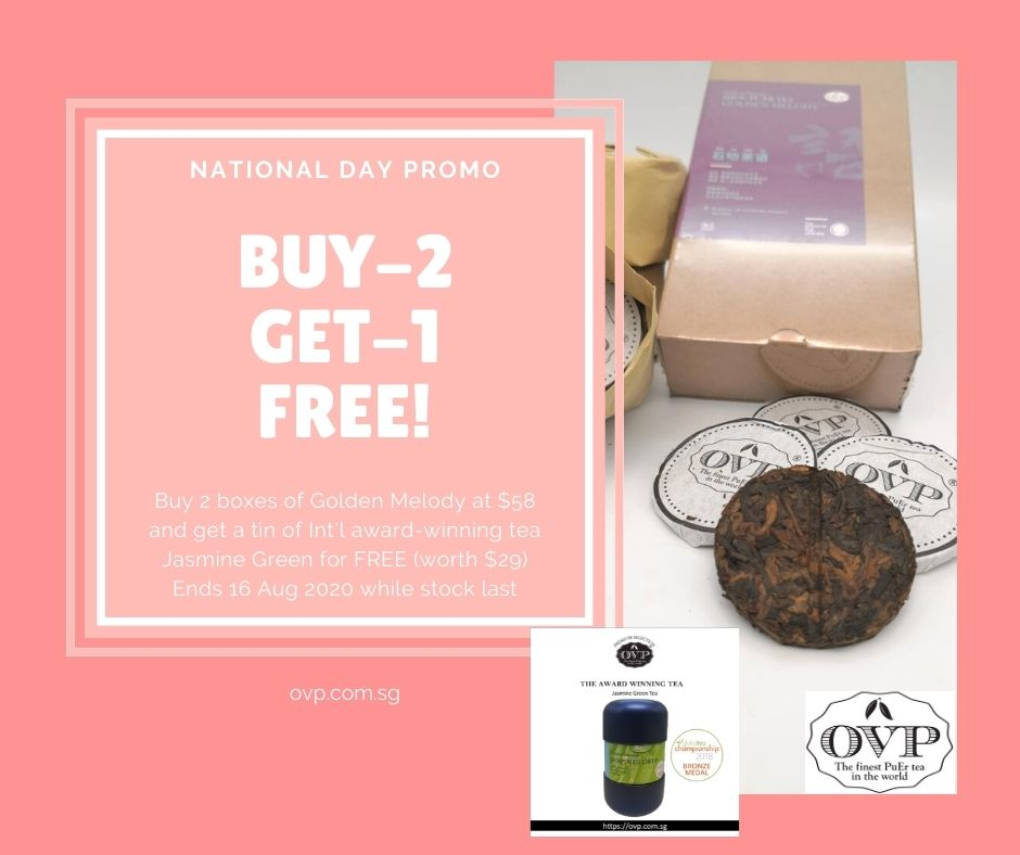 OVP TEA National Day Promo