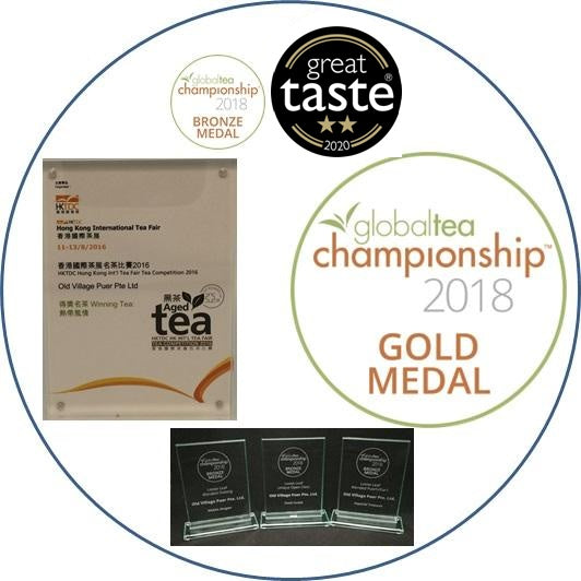 International Award-Winning Teas >
