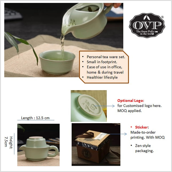 Old Village PuEr Tea Ruyao Personal Brewing Set - OVP Tea