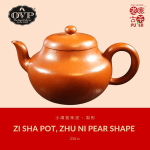 Buy-2-get-3: Old Village PuEr Tea, 12 biodegradable pyramid teabags in Travel Pouch - OVP Tea