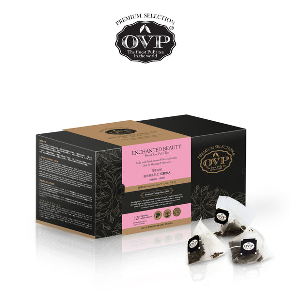 ENCHANTED BEAUTY® Old Village PuEr Tea Gift Box - OVP Tea
