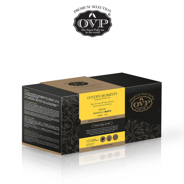 GOLDEN MOMENTS® Old Village PuEr Tea Gift Box - OVP Tea