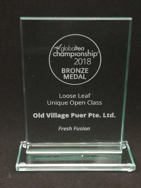 FRESH FUSION® Award-Winning Old Village PuEr Loose Tea in Tin - OVP Tea