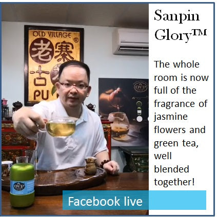 Sanpin Glory® Award-Winning Old Village Jasmine Green Tea - OVP Tea