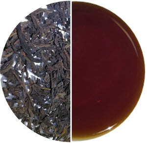 TROPICAL ROMANCE®, Award-Winning Old Village Aged Liu Pao Loose Tea in Tin - OVP Tea